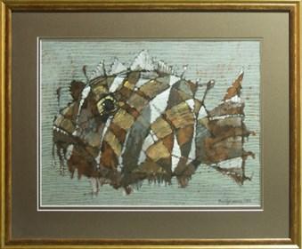 Obraz do salonu artysty Adam Marczukiewicz pod tytułem Ryba – 1