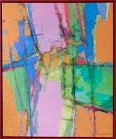 Obraz do salonu artysty Adam Marczukiewicz pod tytułem z cyklu Abstrakcje