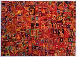 Grafika do salonu artysty Krzysztof Pająk pod tytułem Zaułki Wenecji