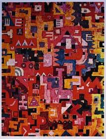 Grafika do salonu artysty Krzysztof Pająk pod tytułem Światła miasta