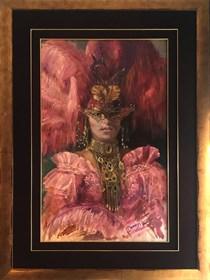 Obraz do salonu artysty Dariusz Kaleta pod tytułem Wenecjanka