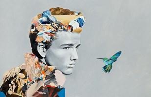Obraz do salonu artysty Łukasz Biliński pod tytułem MISERY LOVING BELONGING