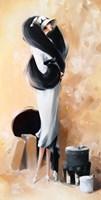 Obraz do salonu artysty Karina Jaźwińska pod tytułem Panna Lili trzyma linię