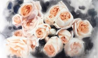 Obraz do salonu artysty Karina Jaźwińska pod tytułem Cichutko szumi wiatr