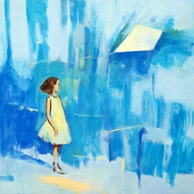 Obraz do salonu artysty Ilona Herc pod tytułem Ulotne II