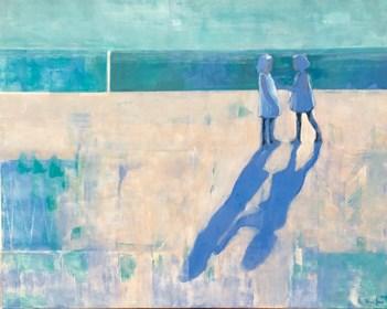 Obraz do salonu artysty Ilona Herc pod tytułem Spotkanie