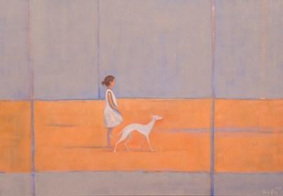 Obraz do salonu artysty Ilona Herc pod tytułem Sama
