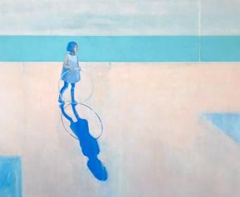 Obraz do salonu artysty Ilona Herc pod tytułem Spotkanie nad morzem