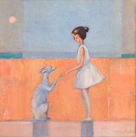 Obraz do salonu artysty Ilona Herc pod tytułem Więź
