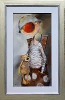 Obraz do salonu artysty Małgorzata Piątek-Grabczyńska pod tytułem Anioł na niby
