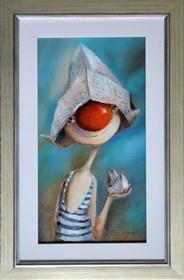Obraz do salonu artysty Małgorzata Piątek-Grabczyńska pod tytułem Tęsknota za morzem