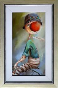 Obraz do salonu artysty Małgorzata Piątek-Grabczyńska pod tytułem Wstecz
