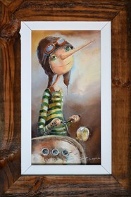 Obraz do salonu artysty Małgorzata Piątek-Grabczyńska pod tytułem Do celu