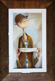 Obraz do salonu artysty Małgorzata Piątek-Grabczyńska pod tytułem Sprawa wielkiej wagi
