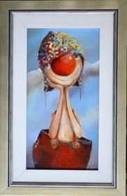 Obraz do salonu artysty Małgorzata Piątek-Grabczyńska pod tytułem A jednak nieśmiały