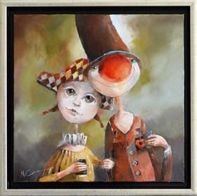Obraz do salonu artysty Małgorzata Piątek-Grabczyńska pod tytułem Przenikanie