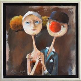 Obraz do salonu artysty Małgorzata Piątek-Grabczyńska pod tytułem Pokochałem