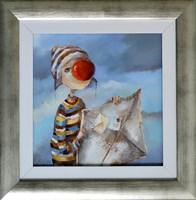 Obraz do salonu artysty Małgorzata Piątek-Grabczyńska pod tytułem Posłaniec