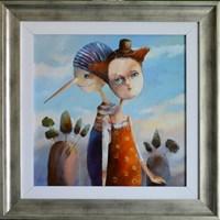 Obraz do salonu artysty Małgorzata Piątek-Grabczyńska pod tytułem To tylko złudzenie