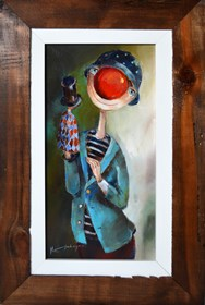 Obraz do salonu artysty Małgorzata Piątek-Grabczyńska pod tytułem Aktor