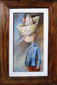 Obraz do salonu artysty Małgorzata Piątek-Grabczyńska pod tytułem Zaokrętowany