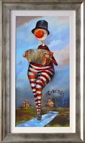 Obraz do salonu artysty Małgorzata Piątek-Grabczyńska pod tytułem Drogą do szczęścia