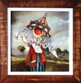 Obraz do salonu artysty Małgorzata Piątek-Grabczyńska pod tytułem Karuzela marzeń