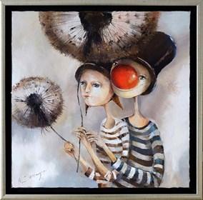 Obraz do salonu artysty Małgorzata Piątek-Grabczyńska pod tytułem Parasol ochronny