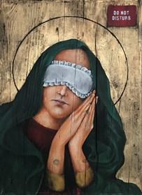 Obraz do salonu artysty Borys Fiodorowicz pod tytułem Matka Boska senna