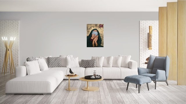 Our Lady, sleepy - visualisation by Borys Fiodorowicz