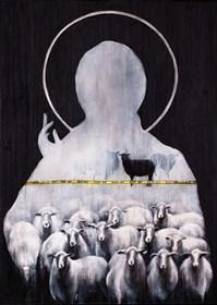Obraz do salonu artysty Borys Fiodorowicz pod tytułem Keep out