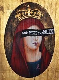 Obraz do salonu artysty Borys Fiodorowicz pod tytułem God Save the Queen