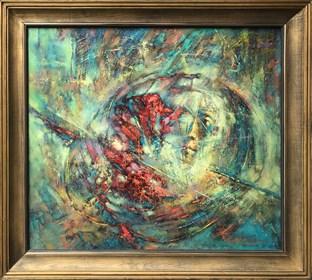 Obraz do salonu artysty Wacław Sporski pod tytułem Przestrzeń i czas