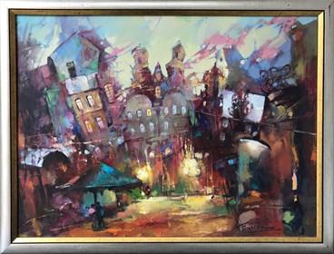Obraz do salonu artysty Wacław Sporski pod tytułem Czas miłości