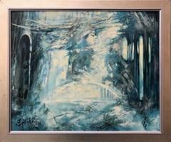 Obraz do salonu artysty Alex Sporski pod tytułem Królowa śniegu