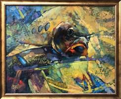 Obraz do salonu artysty Alex Sporski pod tytułem  Halucynacja Wielkiego kryzysu