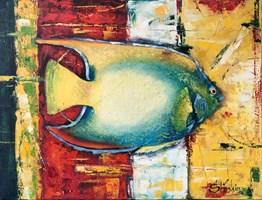 Obraz do salonu artysty Alex Sporski pod tytułem Ryba