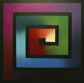 Obraz do salonu artysty Campio pod tytułem Wavelength