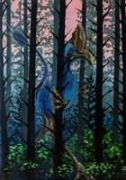 Obraz do salonu artysty Barbara Kozaczkiewicz pod tytułem Nielot