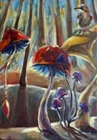 Obraz do salonu artysty Barbara Kozaczkiewicz pod tytułem Sójka