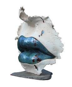 Rzeźba do salonu artysty Jacek Opała pod tytułem Na jagody
