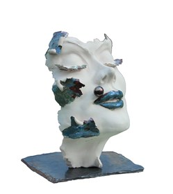 Rzeźba do salonu artysty Jacek Opała pod tytułem Odsłona 1