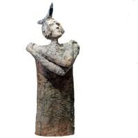 Rzeźba do salonu artysty Arek Szwed pod tytułem Litania do wszystkich gwiazd