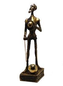 Rzeźba do salonu artysty Tomasz Sętowski pod tytułem Don Kichot