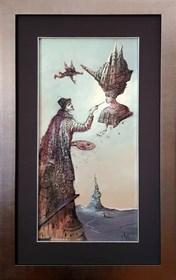Obraz do salonu artysty Tomasz Sętowski pod tytułem Pintor