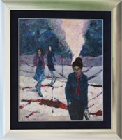 Obraz do salonu artysty Martta Węg pod tytułem Powroty