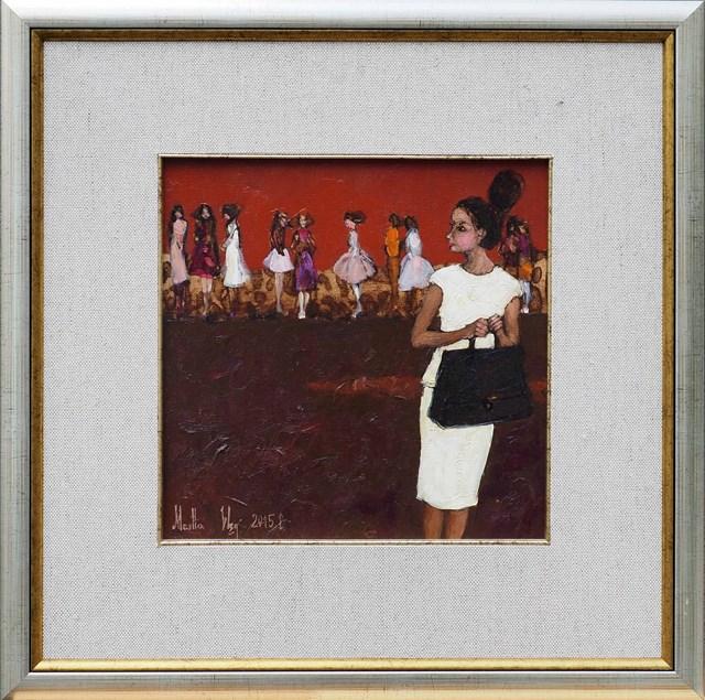 Obraz do salonu artysty Martta Węg pod tytułem Spóźniona