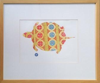 Obraz do salonu artysty Ryszard Grzyb pod tytułem Żółw