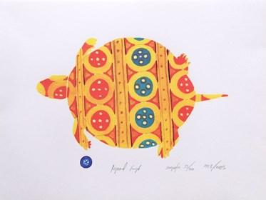 Grafika do salonu artysty Ryszard Grzyb pod tytułem Serigrafia 59/100