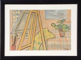 Obraz do salonu artysty Tymon Niesiołowski pod tytułem Bez tytułu